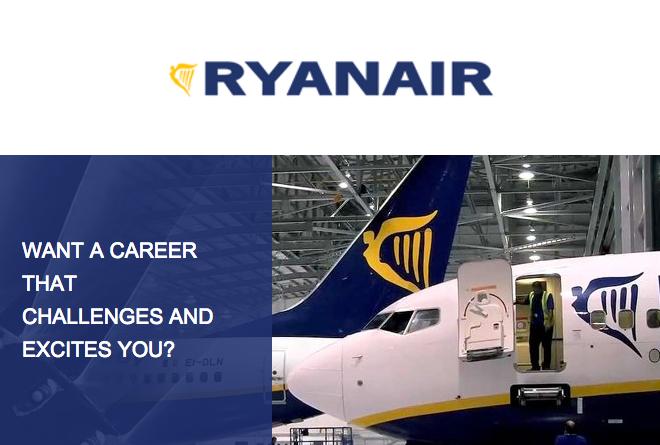 Trabalhar na Ryanair
