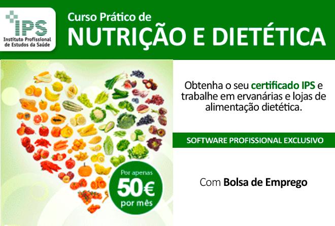 curso de nutrição e dietética