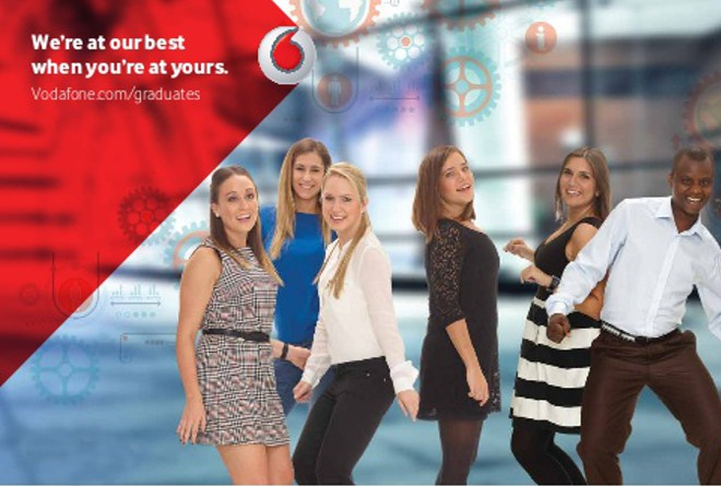 discover vodafone graduates
