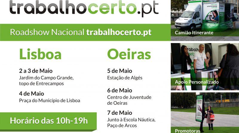 roadshow TrabalhoCerto.pt